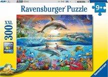Ravensburger puzzel - Dolfijnen paradijs - 300 stukjes XXL
