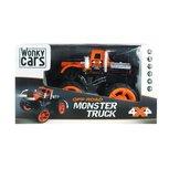 Wonky Cars Monster Truck - Bestuurbare RC Auto - 2,4 GHz Oranje