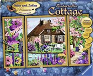 Schilderen op Nummer - Betoverende cottage