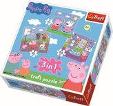 Puzzel Peppa Pig 3 in 1  -  20/36/50