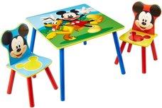 Micky Mouse  - Tafel met twee stoeltjes voor kinderen