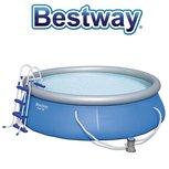 Bestway zwembad - fast set -  incl toebehoren