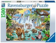 Ravensburger puzzel - waterval in de jungle  - 1500 stukjes