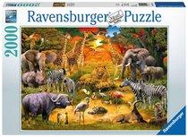 Ravensburger puzzel - Bijeenkomst bij de waterplaats - 2000 stukjes