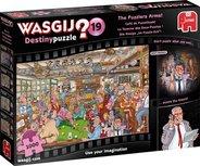Jumbo Legpuzzel - Wasgij Destiny 19 - De Puzzelhoek - 1000 Stukjes