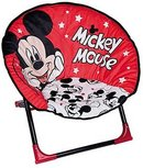Disney Mickey Mouse Opklapbare Moon Chair rood /Zwart