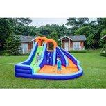Opblaasbaar Waterkasteel voor kinderen - Tropical Slide - Surfac