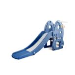 Kinder glijbaan Raket - afgeronde hoeken voor binnen en buiten - blauw