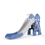 Kinder glijbaan vuurtoren - afgeronde hoeken voor binnen en buiten - blauw