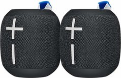 Ultimate Ears WONDERBOOM 2 - Bluetooth Speaker - 2 stuks - Zwart/Deep Space Black