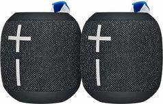 Ultimate Ears WONDERBOOM 2 - Bluetooth Speaker - 2 stuks - Zwart/Deep Space Black