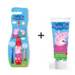 Peppa Pig elektrische tandenborstel met tandpasta