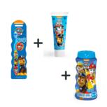 Paw Patrol toiletset -  tandenborstel , tandpasta en shampoo