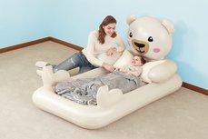 Bestway luchtmatras voor 1 persoon Kids Teddybear