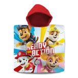 Paw Patrol poncho - ready to action