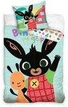 Bing Bunny dekbedovertrek  - katoen