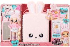 Na Na Na Surprise 3-in-1 Backpack Bedroom Playset: Pink