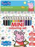 Peppa Pig mini kleurboek met potloden