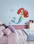 Disney princesses wall stickers - RoomMates - Debutantenbal with glitter elements