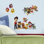 Paw Patrol muurstickers - RoomMates