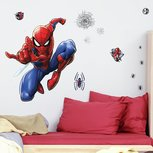 Spiderman XL muursticker - RoomMates