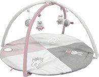 Speelkleed Nijntje roze baby ribstof
