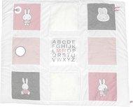 Box-/speelkleed Nijntje roze baby ribstof