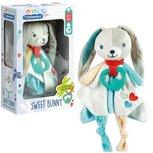 Knuffeldoekje Sweet Bunny - Clementoni