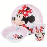 Minnie Mouse ontbijtset - melamine