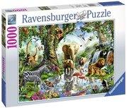 Ravensburger puzzel - Avonturen in de jungle - 1000 stukjes