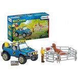 Schleich Dinosaurs - Off-road voertuig met dino wachtpost - 41464