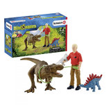 Schleich Dinosaurs - Tyrannosaurus Rex aanval - 41465