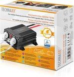 Technaxx TE19 Omvormer 12V naar 2 x 230V en 2 x USB Power Inverter max 600W