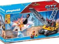 Playmobil City Action - Kabelgraafmachine met bouwonderdeel - 70442