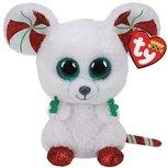 Ty Beanie - Christmas Mouse - 15 cm
