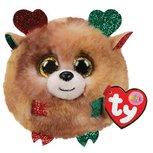 Ty Teeny Puffies - Christmas Reindeer - 10 cm