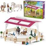 Schleich Horse club - Ruiterschool met ruiter en paarden - 42389