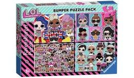 LOL Surprise puzzel - 4 x 100 stukjes