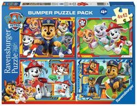 Paw Patrol puzzel - 4 x 42 stukjes