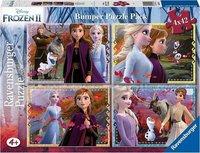 Frozen II puzzel - 4 x 42 stukjes