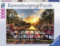 Ravensburger puzzel - Fietsen in Amsterdam - 1000 stukjes
