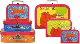 Dikkie Dik kofferset - 3 delig