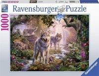 Ravensburger puzzel - Wolven familie in de zomer - 1000 stukjes