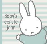 Boek Baby eerste jaar Nijntje: mint