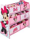 Minnie Mouse - Spielzeugschrank mit 6 Behältern