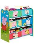 Peppa Pig - Speelgoed opbergkast met 6 bakken
