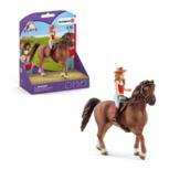 Schleich - Horse club - Hannah en Cayenne - 42514