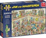 Jan van Haasteren - De Bibliotheek - 2000 stukjes