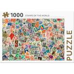 Rebo puzzel -  postzegels van de wereld - 1000 stukjes