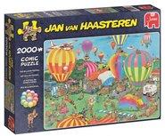 Jan van Haasteren -  Het Ballon festival - 2000 stukjes